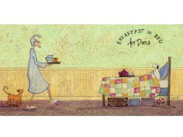 Wandbild Breakfast in Bed for Doris von Sam Toft
