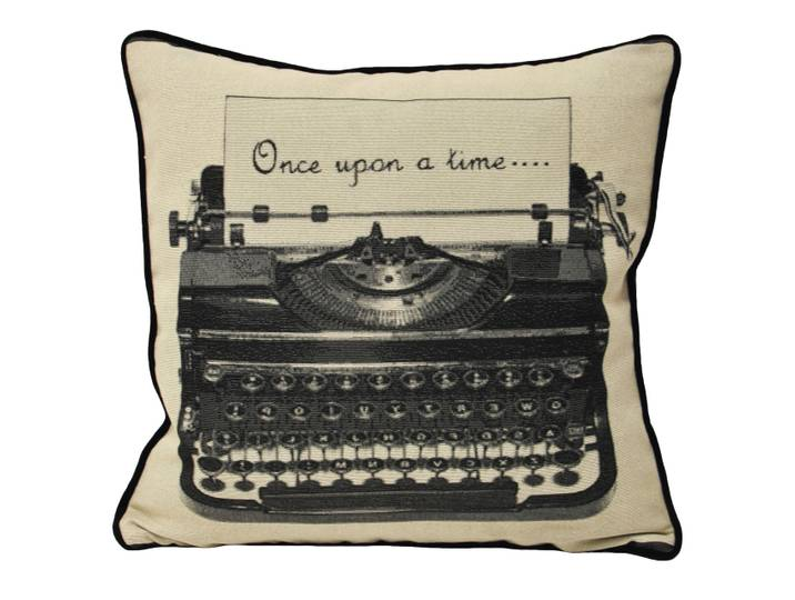 Once Upon A Time Cushion Cover Schwarz