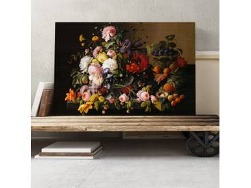 Leinwandbild Still Life Flowers Kunstdruck von Severin Roesen