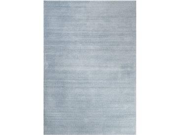 Handgefertigter Teppich Loft in Hellblau