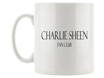 Kaffeebecher Charlie Sheen Fan Club Two and a Half Men Serie