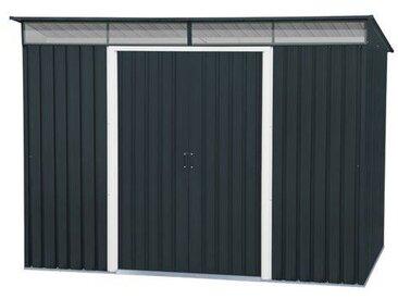 263,5 cm x 184,5 cm Geräteschuppen Pent Roof Newland aus Metall