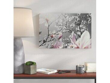 "Leinwandbild ""Schöne Magnolie Blüten"""