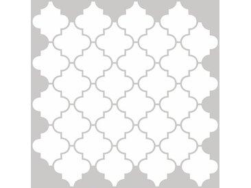 50,8 cm x 50,8 cm Selbstklebende Fliesen Quatrefoil