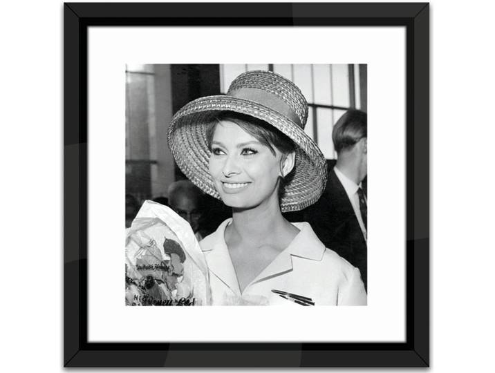 Sophia Loren Framed Photographic Print Weiß
