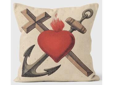 Dekokissen Tate The Russian Revolution Heart, Cross and Anchor