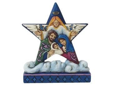 Dekorationsstern Heilige Familie
