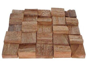 20 cm x 20 cm Mosaikfliesen-Set Electra aus Holz