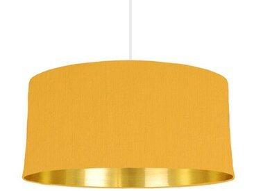 60 cm x 30 cm H Trommelförmiger Lampenschirm aus Baumwolle