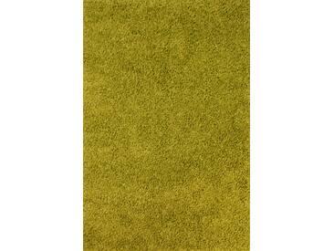 Teppich Retro in Limonengrün