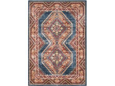 Teppich Sakina Persian in Königsblau/Rostbraun