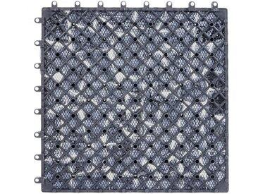 30 cm x 30 cm Mosaikfliesen-Set aus Naturstein