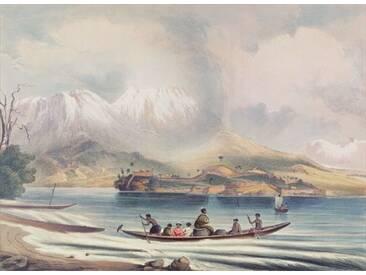 Tongariro Volcano, New Zealand Framed Art Print