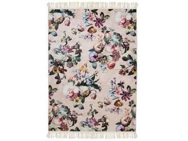 Teppich Fleur in Rosa
