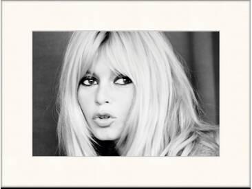 Gerahmtes Poster Brigitte Bardot