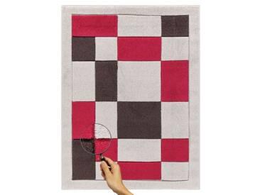 Teppich Karina in Beige/Rot