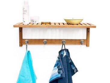 Wandmontierter Handtuchhalter