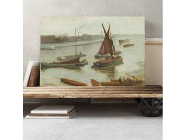 Leinwandbild Old Battersea Reach von James Abbott McNeill Whistler