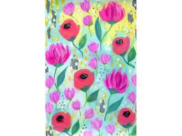 Leinwandbild August Flowers von Jill Lambert