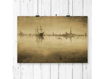 Poster Nocturne von James Abbott McNeill Whistler