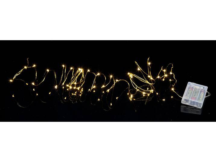 Lichterkette 40-flammig Octavia Blau