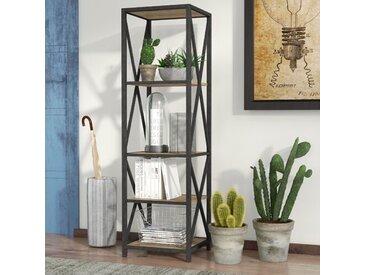 Augustus X-Frame Etagere Bookcase