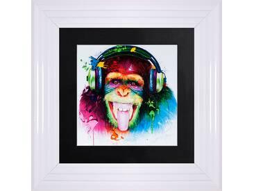 Gerahmtes Poster Monkey HD
