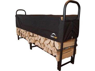 Holzkorb aus Stahl
