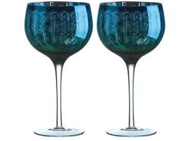 700 ml Cocktailgläser-Set Peacock
