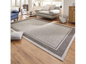 Teppich Natural in Grau