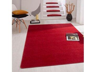 Stufenmatten-Set Fancy in Rot