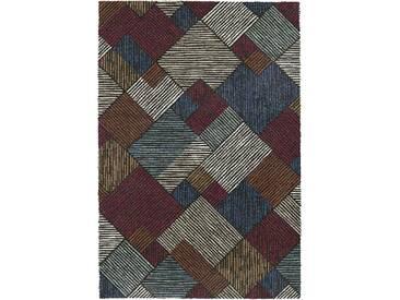 Teppich Berber in Braun/Grau