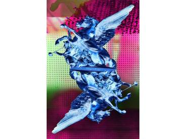 Leinwandbild Unicorn Universe Reverse, Grafikdruck