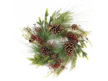 Weihnachtskranz Garden Comforts 50 cm mit Beleuchtung
