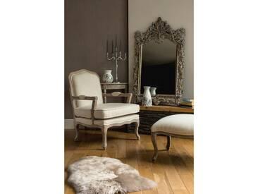 Bearer Hardwood Armchair and Ottoman