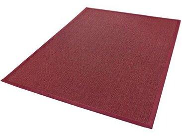 Sisal-Teppich Retta in Rot