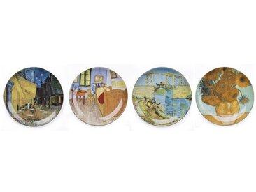 21 cm Teller-Set Vincent Van Gogh aus Porzellan
