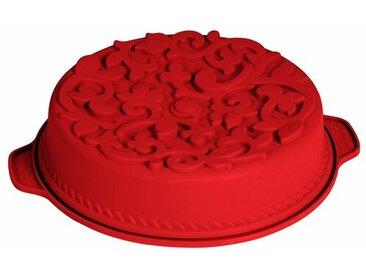 Antihaftbeschichtete Kuchenform aus Silikon