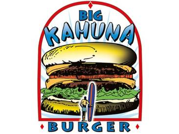 "Leinwandbild ""Big Kahuna Burger"" von Tarantino, Retro-Werbung"