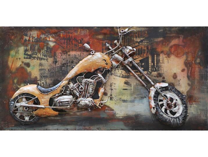 Wandbild Custom Bike, Kunstdruck