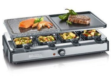 SEVERIN Raclette-Partygrill mit Naturgrillstein