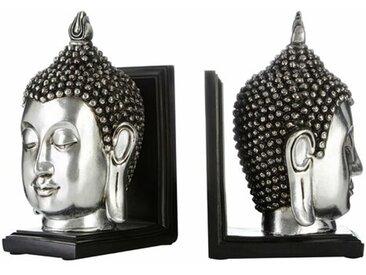 Buchstütze Buddha Head