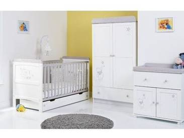 3-tlg. Babyzimmer-Set Winnie Puuh