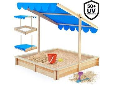 120 cm quadratischer Sandkasten Doreen