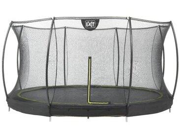 366 cm Trampolin Silhouette mit Sicherheitsnetz