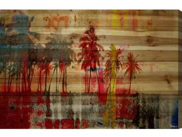 Holzbild Abbott Kinney von Parvez Taj