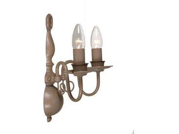 Kerzen-Wandleuchter 2-flammig Aubervilliers