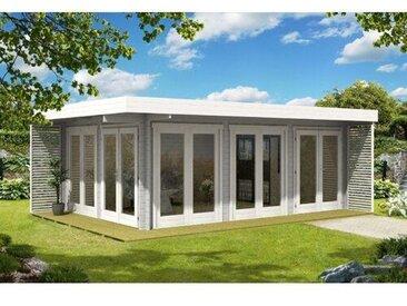 660 cm x 472 cm Gartenhaus Viva