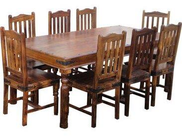 Essgruppe Lola mit 8 Stühlen