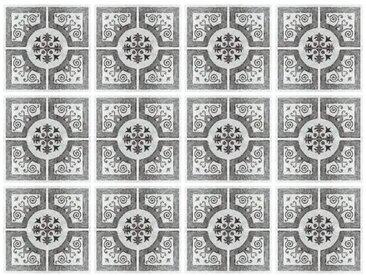 15 cm x 15 cm Selbstklebendes Mosaikfliesen-Set Linnea aus PVC